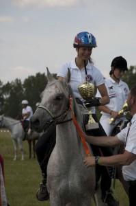 Tereza Kopecká a Armanda S, 1. miesto CEI* 80 km (A)