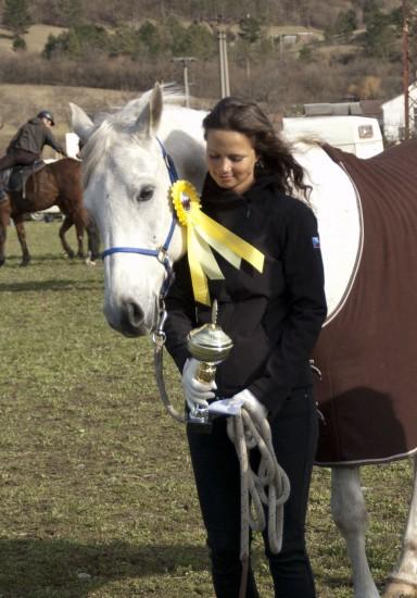 Tereza Kopecká a Tuzemec, 1. miesto CEN 80 km