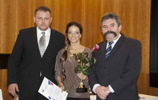 Lucia Starovecká, najlepšia seniorská jazdkyňa roka 2013