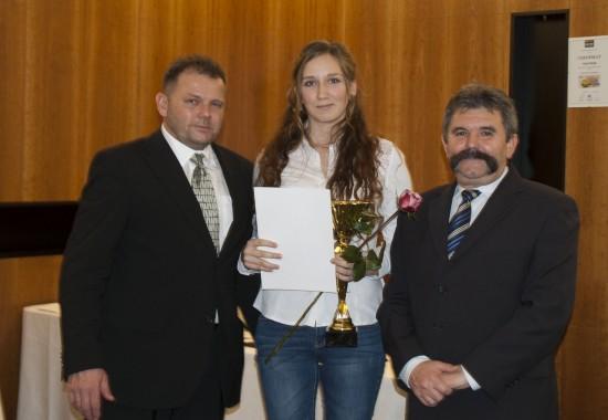 Marika Jantošovičová, prvé miesto v juniorskej kategórii jazdec roka 2013